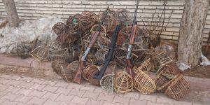Kafes avcılığına 12 bin 344 lira ceza