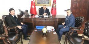 Başkan Tutul'dan Vali Canbolat'a ziyaret