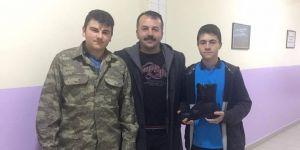 Öğrencilerden askerler için proje