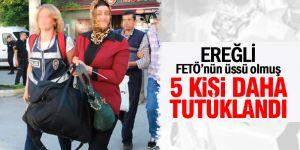 Ereğli'de 5 kişi FETÖ'den tutuklandı