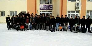 Beyşehir'de kış dönemi kamplarına yoğun ilgi