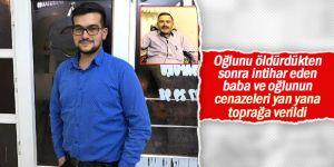 Konya'da baba oğul toprağa verildi
