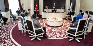 Başkan Toru, lise meclis başkanlarıyla buluştu