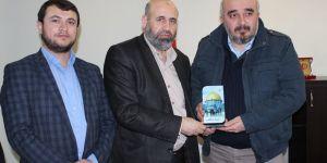 Filistinli heyetten Saadet Partisi'ne ziyaret
