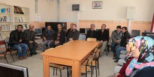 Halkapınar'da vatandaşlarla buluşma toplantısı