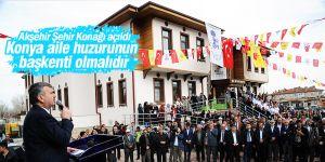 Başkan Akyürek: Konya aile huzurunun başkenti olmalıdır