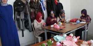 Seydişehir'de örgü bebek kursu