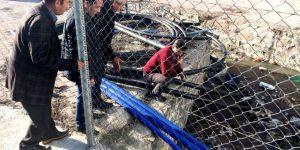 Seydişehir'de su taşkını yaşanan bölgeler incelendi