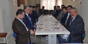 AK Parti'den MHP Ilgın İlçe Başkanlığı'na ziyaret