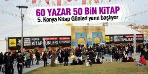 Konya'da kitap günleri başlıyor