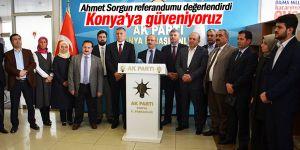 'Konya'ya güveniyoruz'