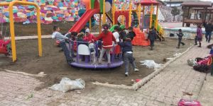 Seydişehir'de, çocuklara oyun parkları