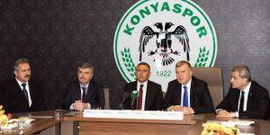 Akyürek: Konya'da spor altyapısını geliştirmek için çalışıyoruz
