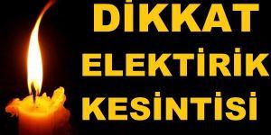 Meram'da elektrik kesintisi yaşanacak