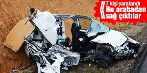 Konya'da kamyonla kamyonet çarpıştı: 7 yaralı