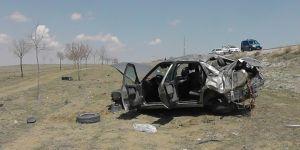 Kulu'da otomobil şarampole yuvarlandı: 1 yaralı