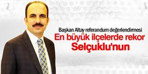 Başkan Altay: Kazanan Türkiye ve Türk milleti olmuştur