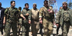 ABD askeri vurulan YPG noktasında