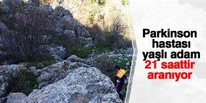 Konya'da kayıp olan yaşlı adam 21 saattir aranıyor