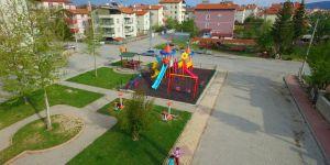 Beyşehir'in parklarında yeni nesil oyun grubu dönemi