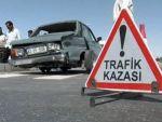 Karamanda iki otomobil çarpıştı: 5 yaralı