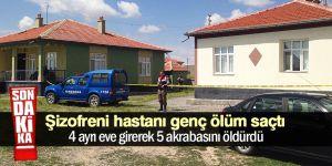 Cihanbeyli'de cinnet: 5 ölü