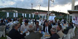 Esnaf ve sanatkarlar iftar yemeğinde buluştu