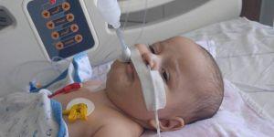 SMA hastası minik Egehan ilaç bekliyor