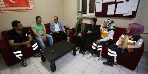 Başkan Özaltun'dan Ramazan ayı ziyaretleri