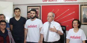 """""""Türkiye'de adalet için yürüyoruz"""""""