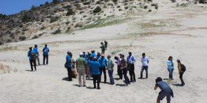 Afrika heyetine erozyonla mücadele anlatıldı