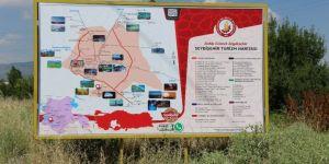 Seydişehir'de turizm levhaları yenilendi
