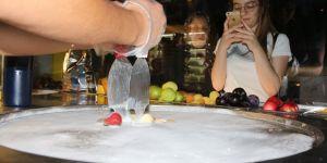 Tayland usulü rulo dondurma ilgi görüyor