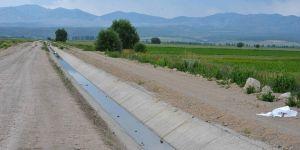 """""""Suğla Cazibe Sulaması"""" projesi tamamlanıyor"""