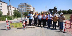 Beyşehir'de doğalgaz altyapı çalışmaları başladı