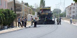 Meram'da yol genişletme çalışması