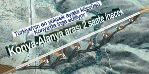 """Türkiye'nin en yüksek ayaklı """"gerdanlığı"""" Toroslar'a yapılıyor"""