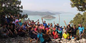 Doğaseverlere Beyşehir Gölü Hacıakif Adası tanıtıldı