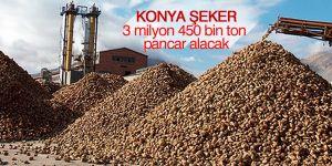 Konya Şeker'in 64. kampanya dönemi pancar alımı başladı