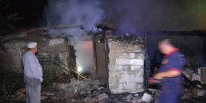 Kulu'da ev yangını