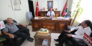 Beyşehir'e atanan emniyet müdürü görevine başladı