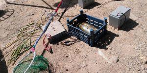 """Elektroşokla avlananlar """"drone"""" ile yakalandı"""