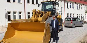 Bozkır Belediyesi iş makinası aldı