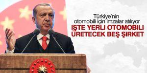 Türkiye'nin otomobili için imzalar atılıyor