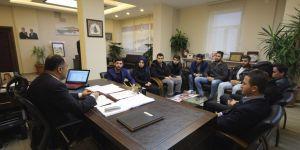 Başkan Özaltun'a AK Parti'den ziyaret