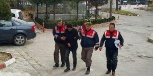 Hırsızlık için girdiği evin sahibinin 50 lirasını gasp eden şahıs tutuklandı