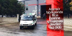 Konya'da üzerine iş makinesi devrilen işçi öldü