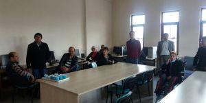 Akşehir'de engelli vatandaşlar için bilgisayar kursu