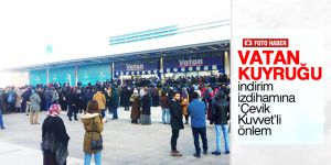 Konya'da teknomarket açılışında izdiham