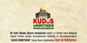 Kültürpark'ta Kudüs için basın açıklaması yapılacak